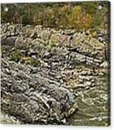 Great Falls Panorama Acrylic Print