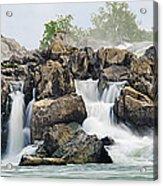 Great Falls Panoramic Acrylic Print