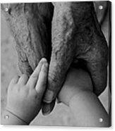 Great Grandpa's Love Acrylic Print