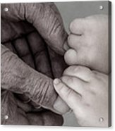Great Grandpa's Touch Acrylic Print