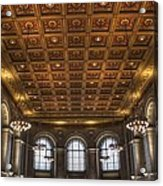 Great Hall St. Louis Central Library Acrylic Print