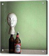 Great Head Acrylic Print