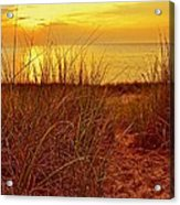Great Lake Great Sunset 2 Acrylic Print