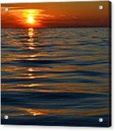 Great Lake Sunset Acrylic Print