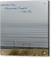 Great Lakes Inspirational Series - Spring Acrylic Print