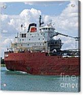Great Lakes Transport Acrylic Print