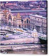 Great Market Hall Budapest Acrylic Print