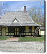 Great Meadows Railroad Station In N J Acrylic Print