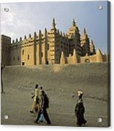 Great Mosque Of Djenn�. S.xiv. Mali Acrylic Print