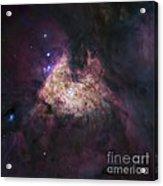 Great Orion Nebula (m42), Hubble Image Acrylic Print