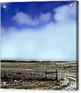 Great Plains Winter Acrylic Print