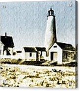Great Point Lighthouse Nantucket Acrylic Print