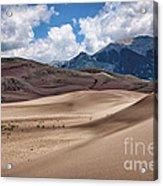 Great Sand Dunes #6 Acrylic Print