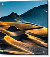 Great Sand Dunes At Dawn Acrylic Print