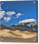 The Great Sand Dunes National Park 2 Acrylic Print