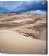 Great Sand Dunes National Park In Colorado Acrylic Print