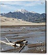 Great Sand Dunes Two Acrylic Print