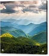 Great Smoky Mountains National Park Nc Western North Carolina Acrylic Print