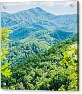 Great Smoky Mountains National Park Near Gatlinburg Tennessee. Acrylic Print