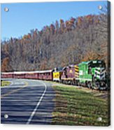Great Smoky Mountains Railroad #777 4 Acrylic Print