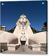 Great Sphinx Of Giza Luxor Resort Las Vegas Acrylic Print