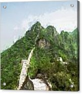 Great Wall 0033 - Oil Stain Sl Acrylic Print