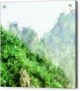 Great Wall 0043 - Academic Acrylic Print