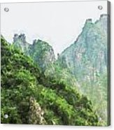 Great Wall 0043 - Oil Stain Sl Acrylic Print