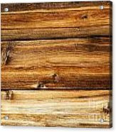 Great Weathered Wood Background Acrylic Print