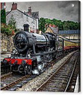 Great Western Locomotive Acrylic Print