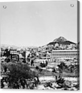 Greece Athens Agora Acrylic Print