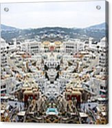 Greece Double Vision #51 Acrylic Print