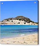 Greece-elafonissos Acrylic Print