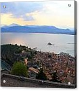 Greece-nafplio Castle Acrylic Print