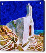 Greek Church 5 Acrylic Print