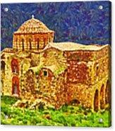 Greek Church 6 Acrylic Print