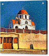 Greek Church 7 Acrylic Print