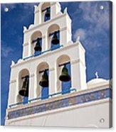 Greek Church Bells Acrylic Print