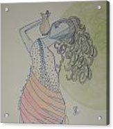 Greek Goddess Acrylic Print