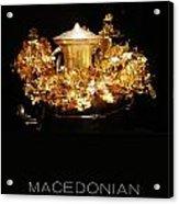 Greek Gold - Macedonian Gold Acrylic Print