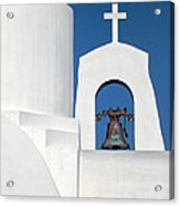 Greek Island Church Acrylic Print