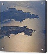 Greek Islands In The Aegean Sea   #7428 Acrylic Print