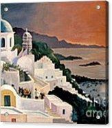 Greek Isles Acrylic Print