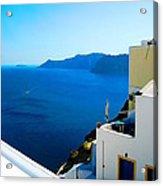 Greek Mediterranean Acrylic Print
