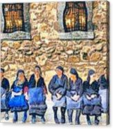 Greek Montagnard Acrylic Print