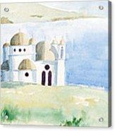 Greek Orthodox Church 2 Acrylic Print