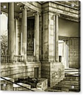 Greek Theatre 7 Golden Age Acrylic Print by Angelina Vick