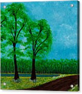 Green Acres Acrylic Print