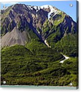 Green Alaska Acrylic Print