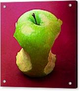 Green Apple Core 2 Acrylic Print